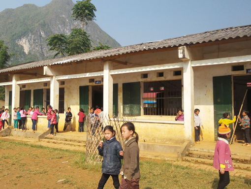 Trà Lĩnh tiếp tục nâng cao hiệu quả phát triển giáo dục- đào tạo