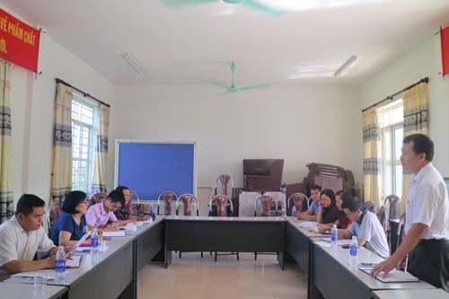 Chuyên gia hỗ trợ tác giả, nhóm tác giả tại huyện Trùng Khánh