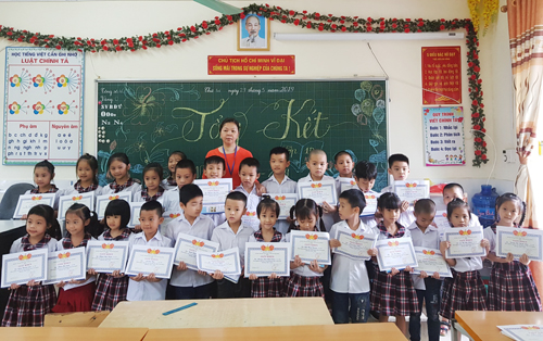 Toàn tỉnh có 15144 học sinh bậc tiểu học xếp loại hoàn thành tốt môn Toán, Tiếng Việt