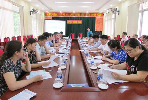 """Tổ chức thành công sự kiện vận động """"Sáng tạo khoa học kỹ thuật trong phát triển nông nghiệp, nông thôn"""" tại huyện Thông Nông, tỉnh Cao Bằng"""