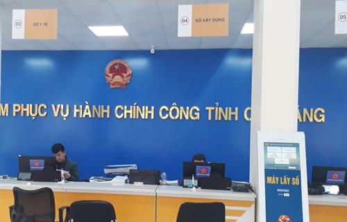 Trong quý I, Trung tâm phục vụ hành chính công của tỉnh đã tiếp nhận 2.084 hồ sơ TTHC